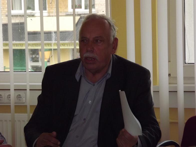 Etikos komisijos pirmininkas J. Povilaitis
