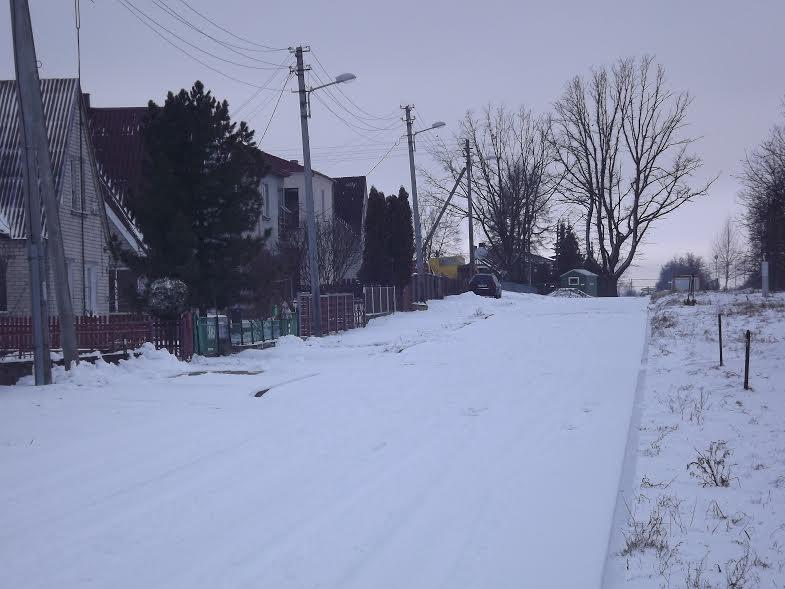 Rekonstrukcijos laukianti Miško gatvės dalis
